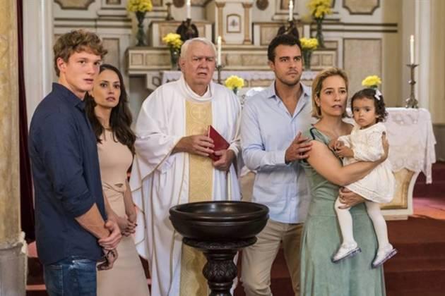 Malhação - Batizado de Nina (Globo/Paulo Belote)