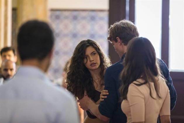 Malhação - Rita invade o batizado (Globo/Paulo Belote)