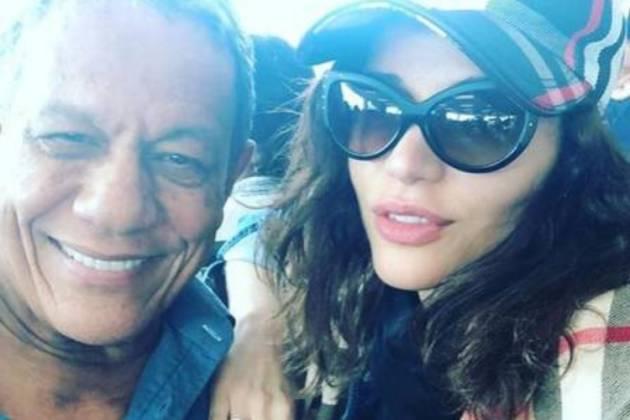Maria Melilo e o namorado, empresário Arnaldo Pereira - Reprodução/Instagram