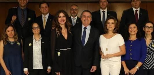 Luciana Gimenez e Bolsonaro/Reprodução Instagram