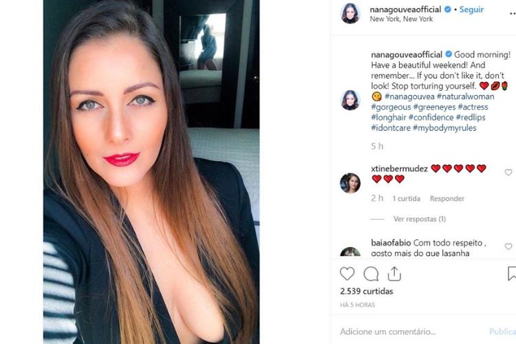 Nana Gouvea/Reprodução Instagram