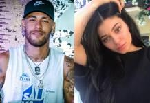 Neymar e Kylie - Montagem/Área Vip