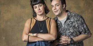 Órfãos da Terra - Abner e Sara (Globo/Paulo Belote)