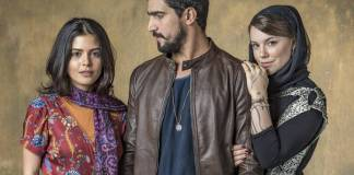 Órfãos da Terra - Laila - Jamil - Dalila (Globo/Paulo Belote)