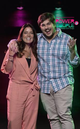 Power Couple - Camila Colombo e Lucas Salles (Edu Moraes/Record TV)