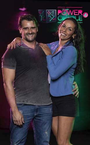 Power Couple - Paula Pequeno e Alexandre Folhas (Edu Moraes/Record TV)