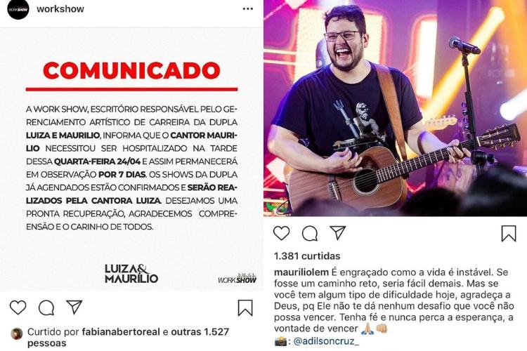 Publicações/Reprodução Instagram