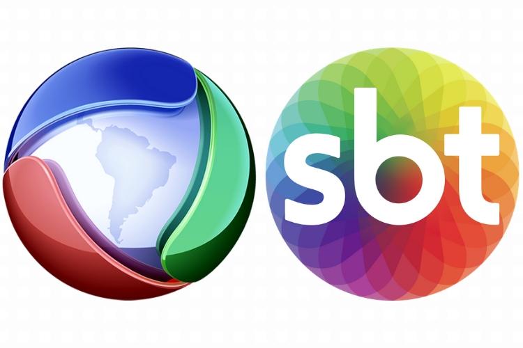 Logos Record e SBT/Montagem: Área Vip