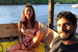 Renato Góes e a noiva Thaila Ayala/Reprodução Instagram