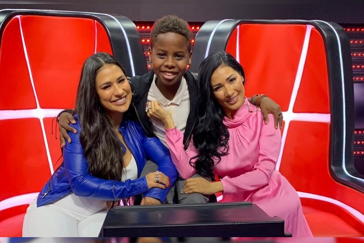 Simone e Simaria e Jeremias, vencedor do 'The Voice Kids' - Reprodução/Instagram