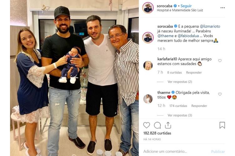 Sorocaba/Reprodução Instagram