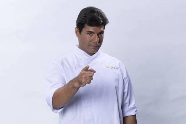 Top Chef - Felipe Bronze (Antonio Chahestian/Record TV)