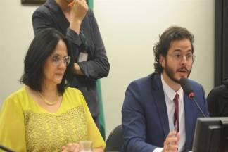 Damares Alves e Túlio Gadelha (Foto: Reprodução)