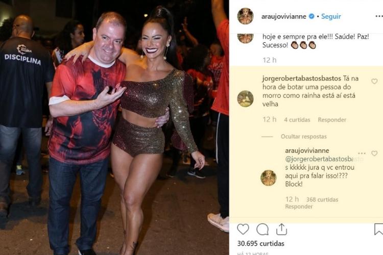 Viviane/Reprodução Instagram