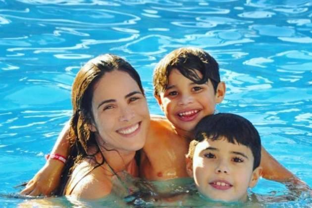 Wanessa Camargo e filhos - Reprodução/Instagram