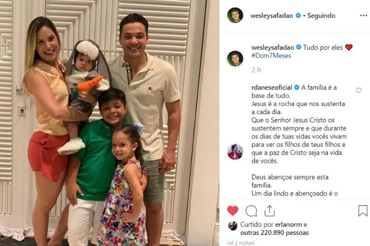 Wesley Safadão/Reprodução Instagram