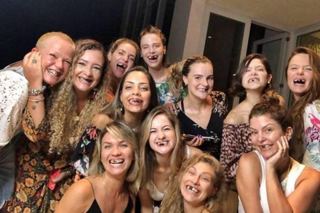 Xuxa com paquitas/Instagram