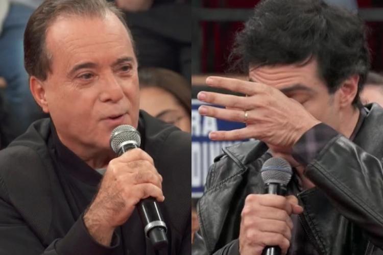 Tony Ramos e Mateus Solano/Reprodução Globoplay