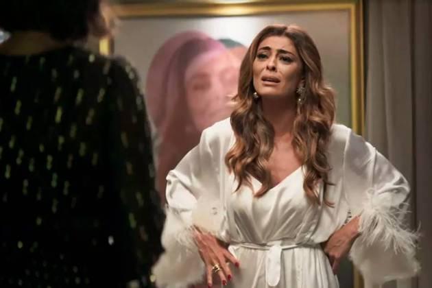 A Dona do Pedaço - Maria conversa com Josiane (Reprodução/TV Globo)