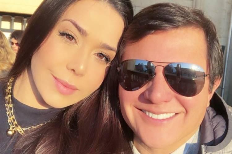 Ana Carolina, mulher do sertanejo Giovani, emociona com declaração romântica