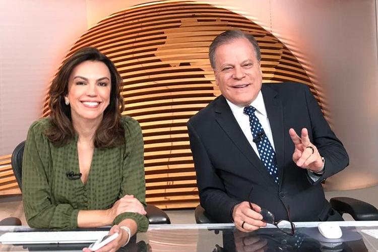 Ao vivo, jornalistas protagonizam momento inusitado durante o 'Bom Dia Brasil'; veja