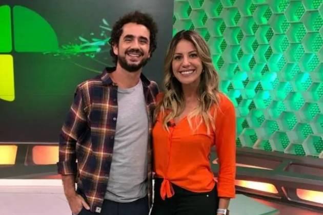 Felipe Andreoli e Bárbara Coelho - Reprodução/Globo