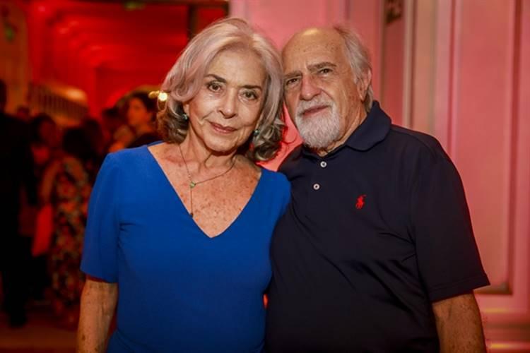 Betty Faria e Ary Fontoura (Globo / Paulo Belote)