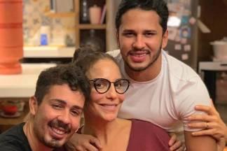 Carlinhos Maia, Ivete Sangalo e Lucas Guimarães - Reprodução/Instagram