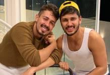 Carlinos Maia e Lucas Guimarães - Reprodução/Instagram