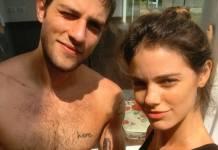 Chay Suede e Laura Neiva/Reprodução Instagram