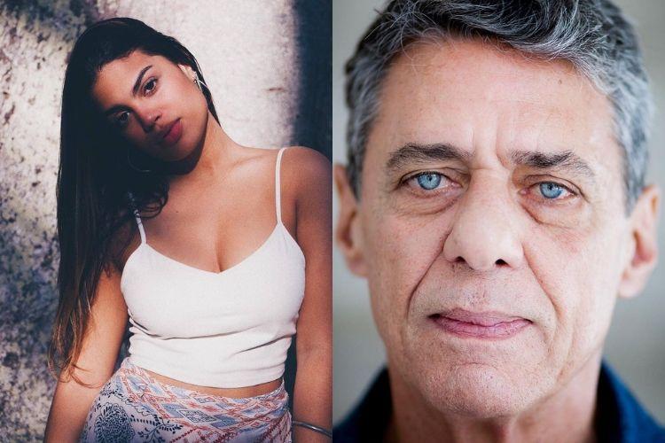 Neta de Chico Buarque surge deslumbrante e ganha elogios do pai, Carlinhos Brown