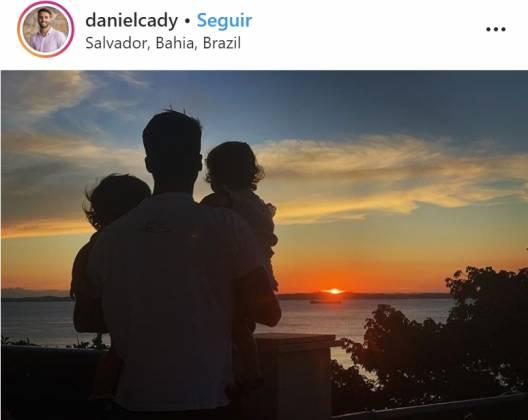 Daniel e filhas - Reprodução/Instagram