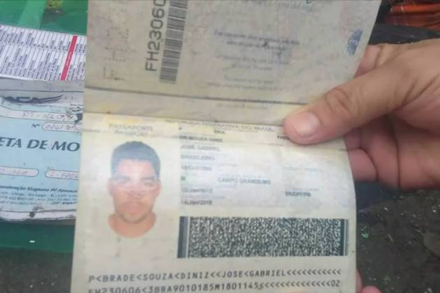 Documento - Gabriel Diniz (Reprodução/Jornal Hoje)