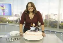 Fabiola Reipert comemora aniversario (Antonio Chahestian/Record TV)