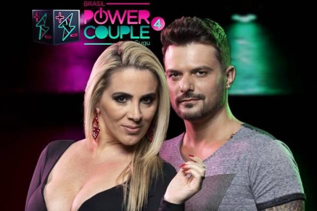 Faby e Enrico (Edu Moraes/Record TV)