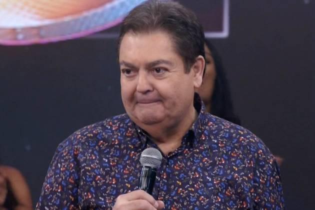 Fausto Silva - Reprodução/Globo