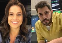 Fernanda Gentil e Evaristo Costa/Instgaram