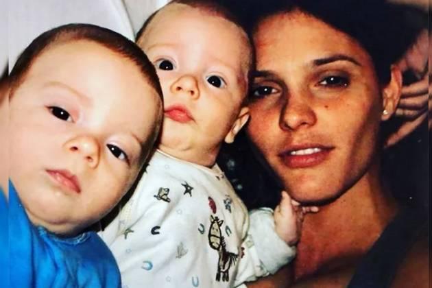 Fernanda Lima e filhos - Reprodução/Instagram