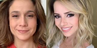 Fernanda Gentil e Sandy - Montagem/Área Vip