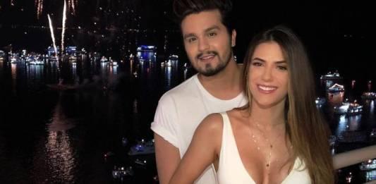 Luan Santana e Jade Magalhães/Reprodução Instagram