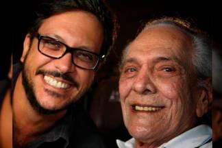 Lúcio Mauro Filho e o pai - Reprodução/Internet