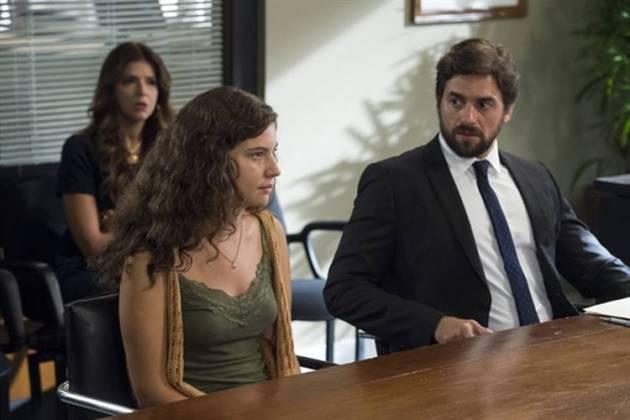 Malhação - Rita na audiência (Globo/Estevam Avellar)