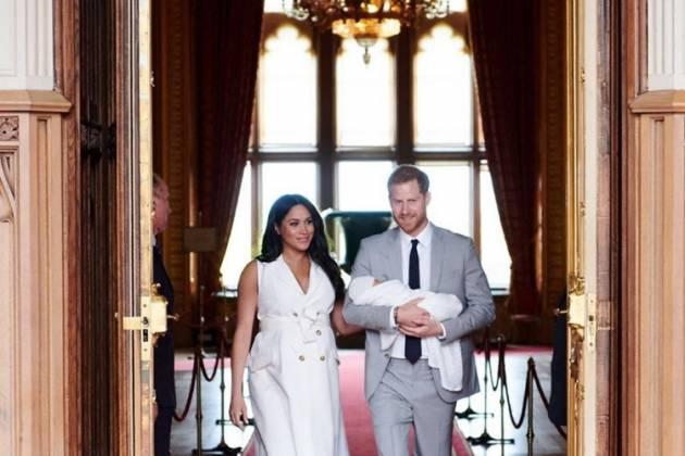 Meghan Markle e príncipe Harry/Reprodução Instagram