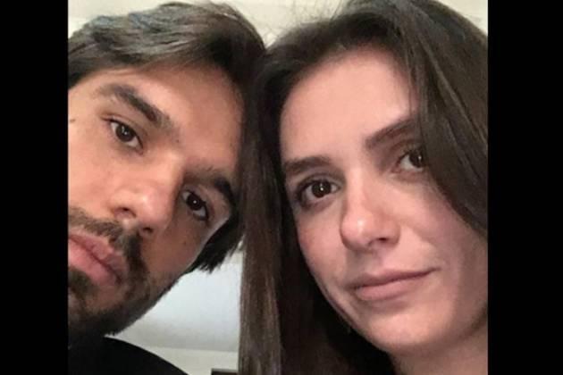Monica com o namorado/Instagram