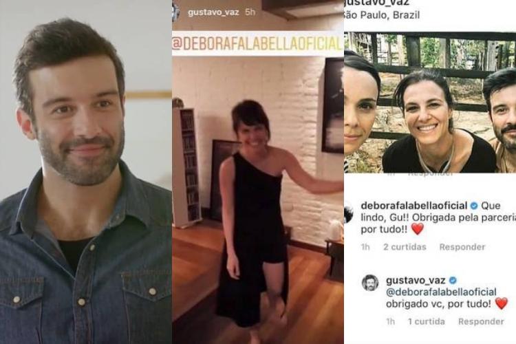 Gustavo Vaz/Reprodução Instagram/Jornal Extra