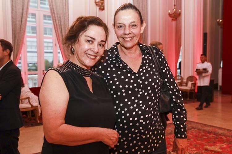 Nivea Maria e Rosi Campos (Globo / Paulo Belote)