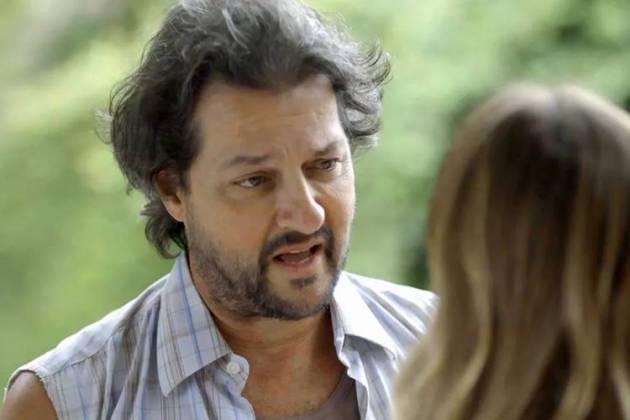 O Sétimo Guardião - Nicolau conversa com Afrodite (Reprodução/TV Globo)