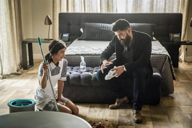 Órfãos da Terra - Camila e Paul (Globo/Paulo Belote)