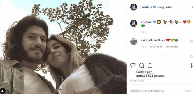 Post - Cris Dias/Instagram