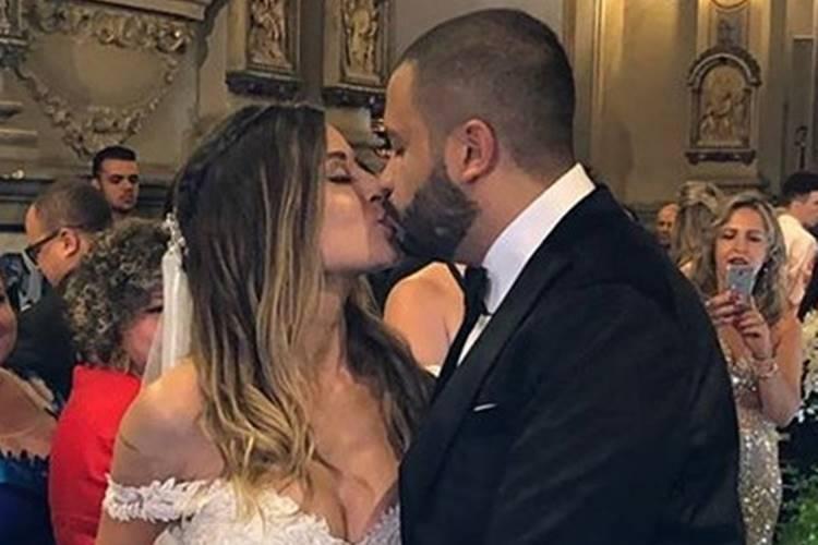Projota e Tamy Contro se casam em São Paulo